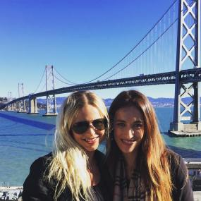 Heather and Shaina at Google
