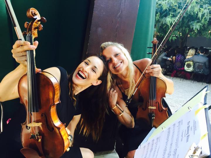 Heather and Shaina