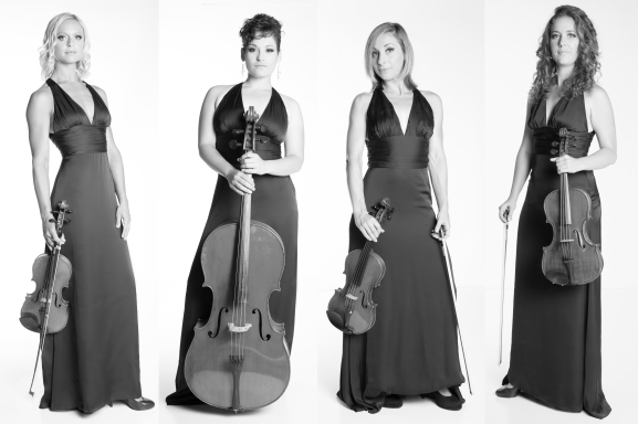 Eclecta Quartet Official Photo Shoot